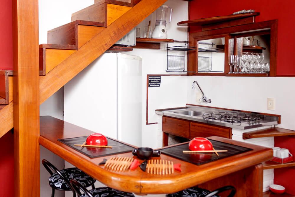 Residencial Rosauros - Pousada Praia de Cima - Pousada Pinheira - Apartamento Oriental